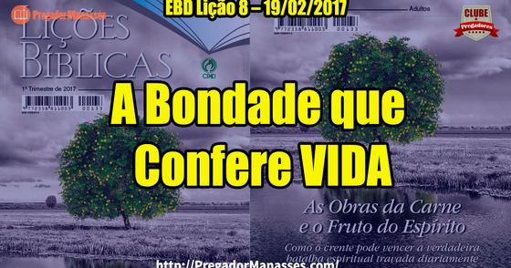 Cover - EBD Lição 8 - A Bondade que Confere Vida