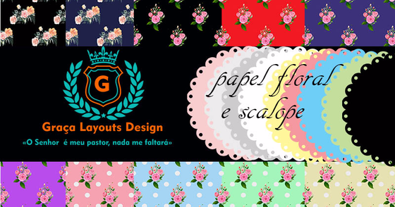 Cover - Kit digital floral