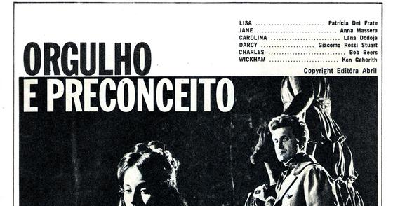 Cover - PDF Revista Fotonovela Orgulho e Preconceito | Baixar