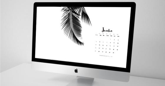 Cover - Calendário de Junho p/ Desktop