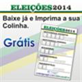 Thumb - Colinha - Eleições 2014 - Folha com 3 Colinhas.