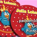 Thumb - Tag personalizada da galinha pintadinha