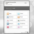 Thumb - TEMPLATE PERSONAL WEB CARD