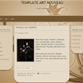 Thumb - Template Art Nouveau