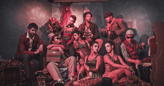 Cover - O Teatro Mágico - Recombinando Atos