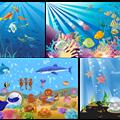 Thumb - Backgrounds do Fundo do Mar  em vetor