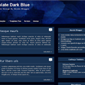 Thumb - Template Dark Blue