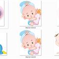 Thumb - Bebês para Convites Infantis