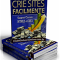 Thumb - Manual Crie Sites Facilmente! Super Curso de HTML5 e CSS3