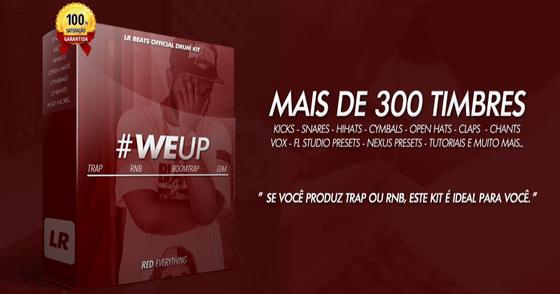 Cover - LR BEATS DRUM KIT - #WeUp (DEMO)