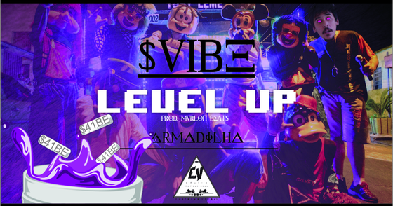 Cover - S41B3 - Level UP (Prod. Mvrlon)
