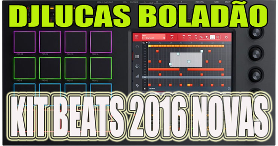 Cover - Kit Beats 2016 Novas Para Download