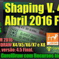 Thumb - Macro Shaping V4.5 CorelDRAW 64 ou 32 Bits | Atualização 2016