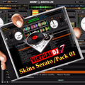 Thumb - Skins Do Serato Para Virtual Dj 7 - Pack 01