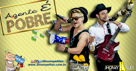 Cover - Jhonny & Alex - A Gente é Pobre (áudio oficial) ► CD: #SERTÃOROCK
