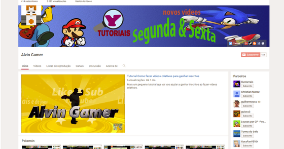 Cover - Tutorial-Como fazer videos criativos para ganhar inscritos