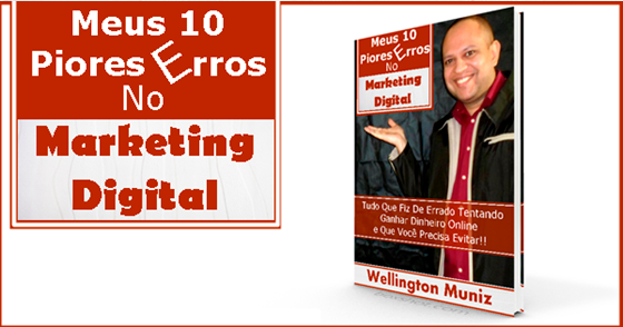Cover - Ebook: Meus 10 Piores Erros No Marketing Digital