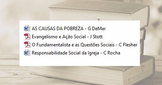 Cover - 04 Textos sobre Ação Social da Igreja