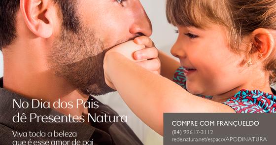 Cover - Dia dos Pais Natura com Frete Grátis