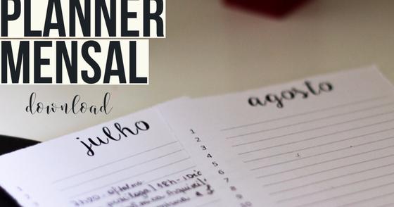 Cover - Planner Mensal - A Enjoada da Corte