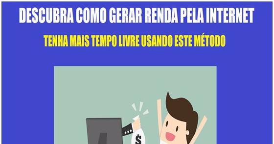 Cover - Descubra Como Gerar Dinheiro Pela Internet