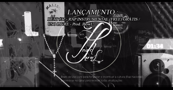 Cover -  BEAT #17 - RAP INSTRUMENTAL (FREE)GRÁTIS/USO LIVRE - Prod. JhOwL