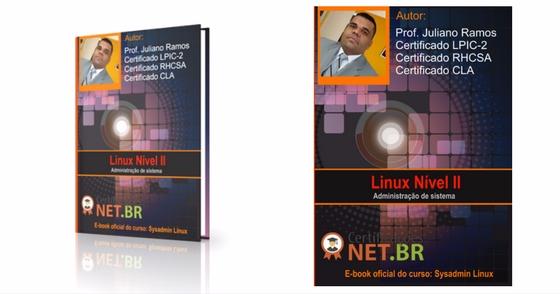 Cover - E-book Grátis: Administração Linux - 100% prático!