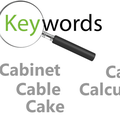 Thumb - Keywords - cabinet, cable, cake, calculate and calculation