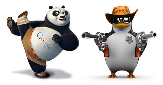 Cover - SEO SECRETOS PANDA PINGUIM