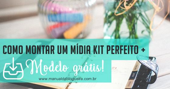 Cover - MÍDIA KIT   MODELO GRÁTIS