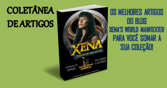 Cover - Xena Warrior Princess - Coletânea de Artigos