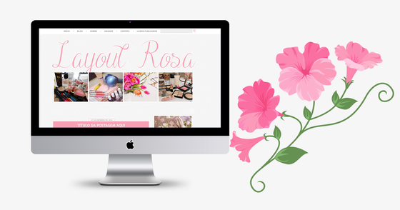 Cover - Layout Rosa