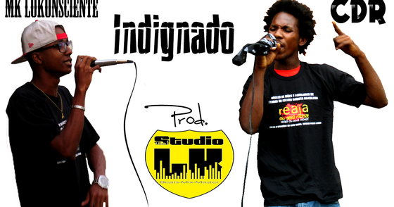 Cover - MK LoKonsciente - Indignado Part. CDR (Prod. Studio LK)