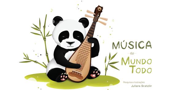 Cover - Música do Mundo Todo - instrumentos musicais e bichinhos fofos!