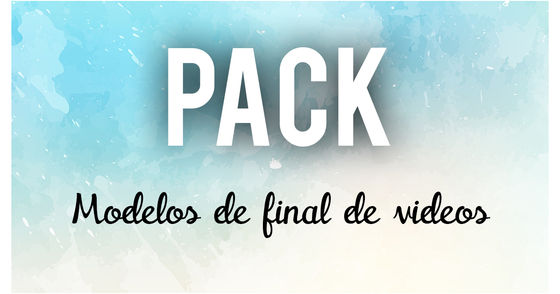 Cover - Pack de Final de Video (Endslate) para Youtube