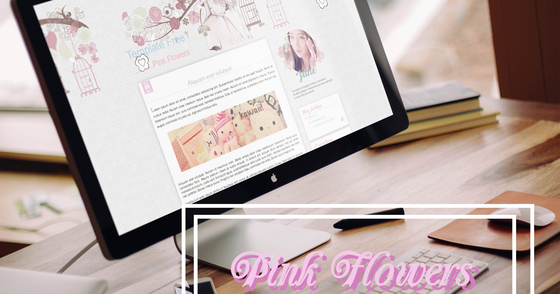 Cover - Template Pink Flowers