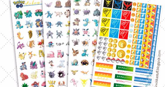 Cover - Adesivos PokémonGO por [Coisas da Kika] @kikahoneycutt