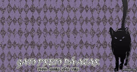 Cover - Wallpaper: Gato Preto dá Azar (1920X1080)