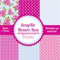 Thumb - SCRAPKIT FLOWERS ROSE