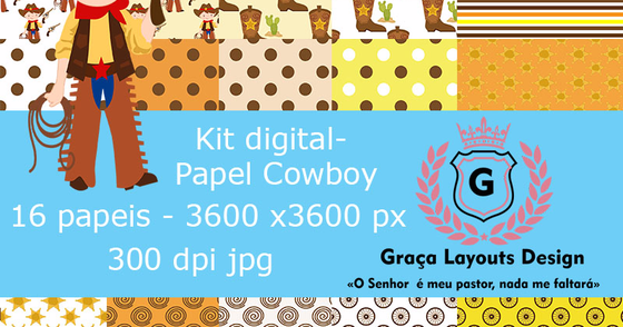 Cover - Kit  digital Cowboy