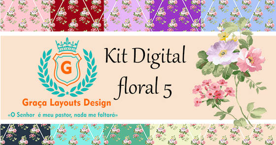 Cover - Kit digital Floral 4 e 5