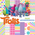 Thumb - KIT DIGITAL TROLLS PAPEIS + PERSONAGENS