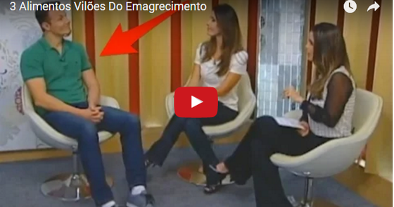 Cover - video ] 3 Alimentos Vilões Do Emagrecimento