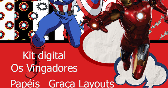 Cover - Kit Digital Os vingadores