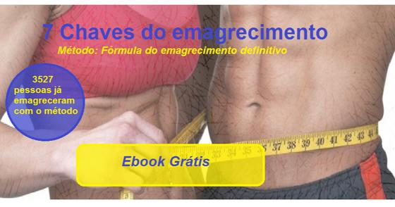 Cover - Ebook Grátis - 7 Chaves para emagrecer com saúde