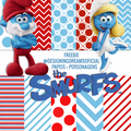 Thumb - KIT DIGITAL SMURFS PAPEIS+ PERSONAGENS