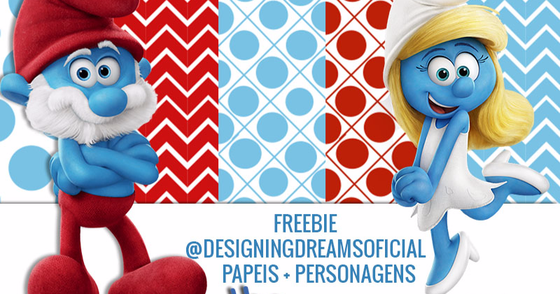 Cover - KIT DIGITAL SMURFS PAPEIS+ PERSONAGENS