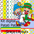 Thumb - Kit digital papéis Patati Patata