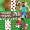 Thumb - Kit Digital Minicreft   papéis