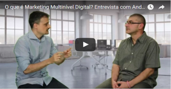Cover - Vídeo o que é Marketing Multinivél Digital